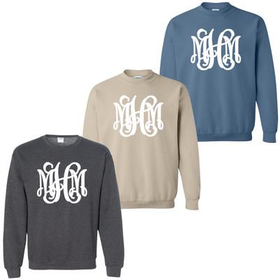 Full Monogrammed Crewneck Sweatshirt