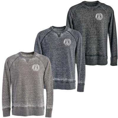 Monogrammed Vintage Zen Crewneck Sweatshirt