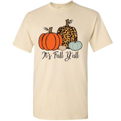 Its Fall Yall Graphic T-Shirt