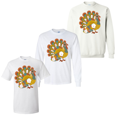 Colorful Turkey T-Shirt