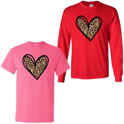 Leopard Heart Shirt