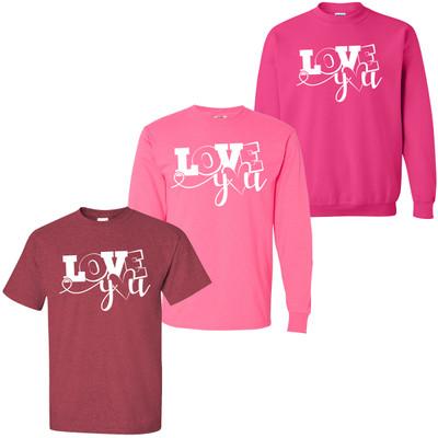 Love You Shirt