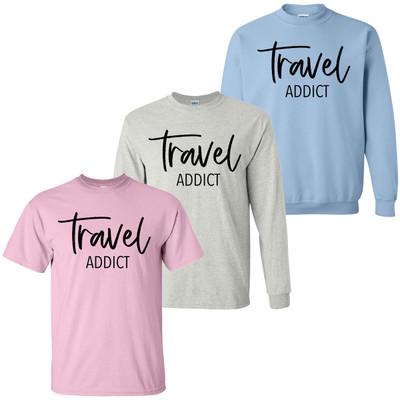 Travel Addict Shirt