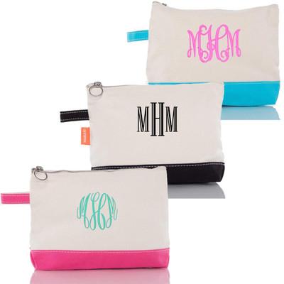 Monogrammed Make-Up Bag