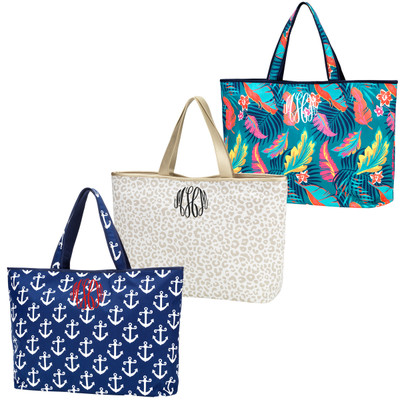 Monogrammed Ally Tote