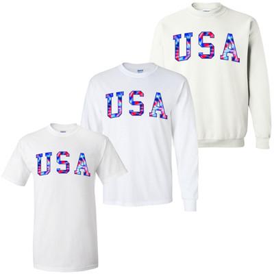 USA Tie Dye Graphic Tee
