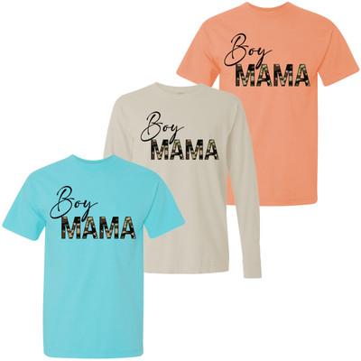 Camo Boy Mama Comfort Colors T-Shirt