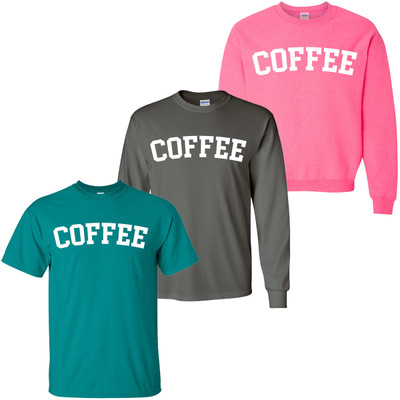 Coffee Arched Shirt