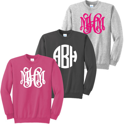 Youth Party On Full Monogrammed Sweatshirt