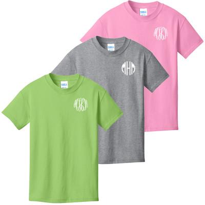 Monogrammed Infant/Toddler Shirt