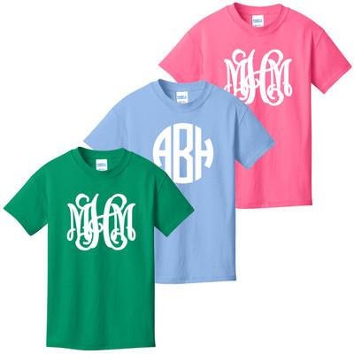 Full Monogrammed Infant/Toddler Shirt