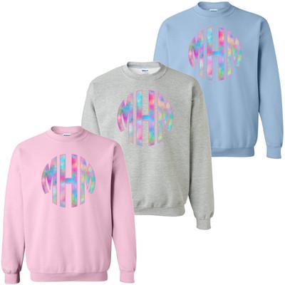 Unicorn Monogram Sweatshirt