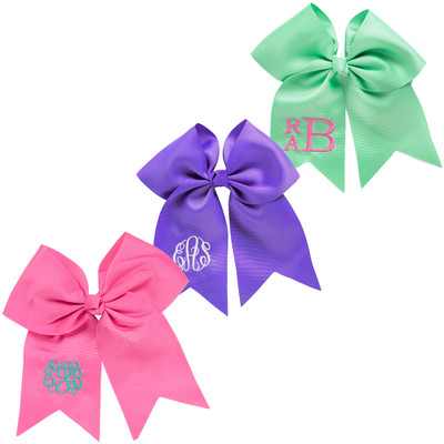 WB Personalized Hair Bow