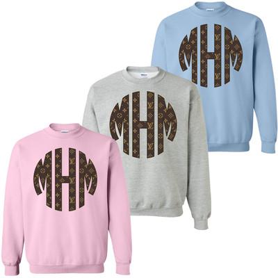 Big Print Designer Sweatshirt