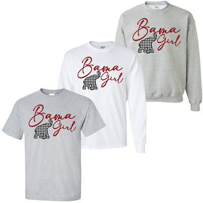 Bama Girl Graphic Tee Shirt