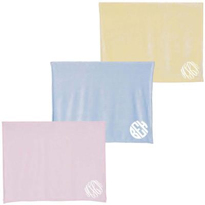 Monogrammed Mink Touch Luxury Baby Blanket
