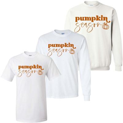 Pumpkin Season Graphic Tee Shirt