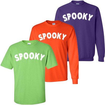 Spooky Graphic Tee Shirt