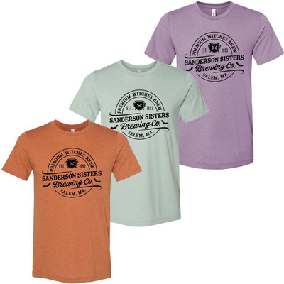 Sanderson Sisters Brewing Company Bella Canvas Graphic Tee Shirt