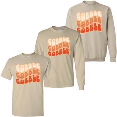 Wavy Gobble Graphic Tee Shirt