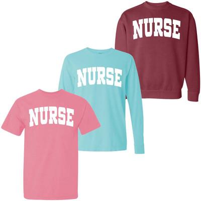 Nurse Comfort Colors Graphic Shirt