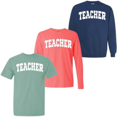 Teacher Comfort Colors Graphic Shirt