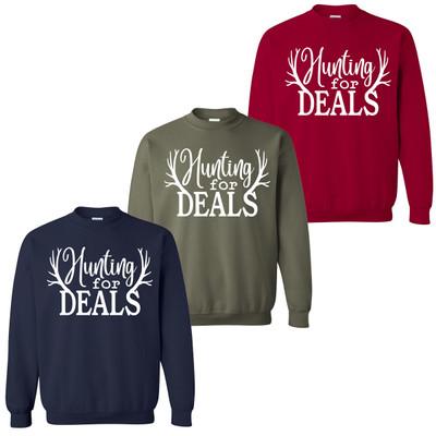 Hunting For Deals Sweatshirt