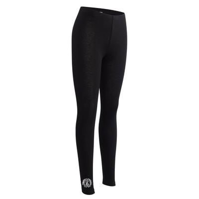 Monogrammed Bella Canvas Spandex Legging - Black