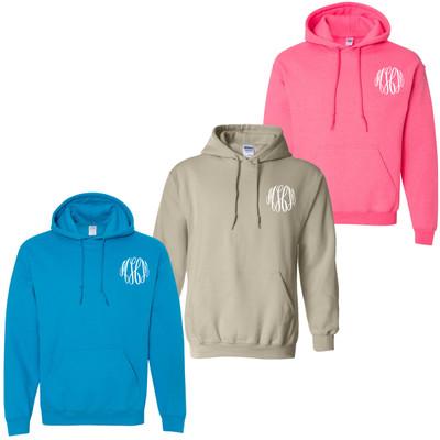 Monogrammed Hooded Sweatshirt