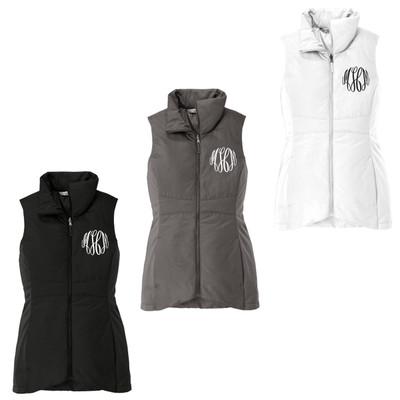 Monogrammed Ladies Insulated Vest