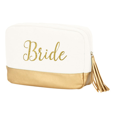 WB Personalized Cabana Cosmetic Bag - Bride