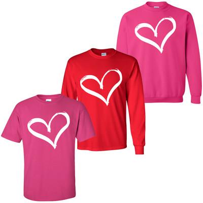 Heart Valentines Day Shirt