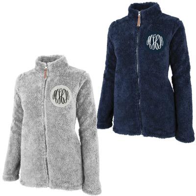 Monogrammed Newport Full Zip Fleece Jacket