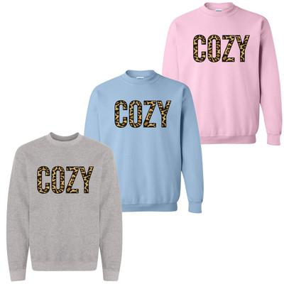 Cozy Leopard Sweatshirt