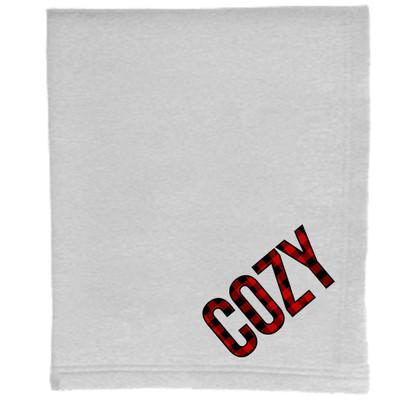 Sweatshirt Blanket - Ash - Cozy Buffalo Plaid