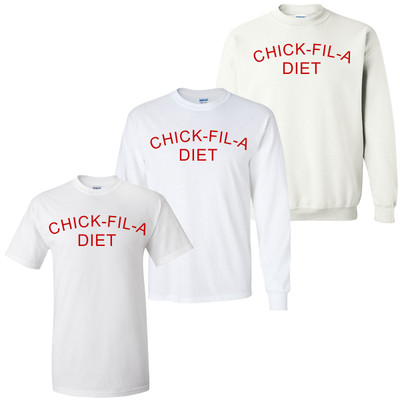 Chick-Fil-A Diet Graphic Tee Shirt