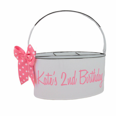 Personalized Utensil Caddy - White