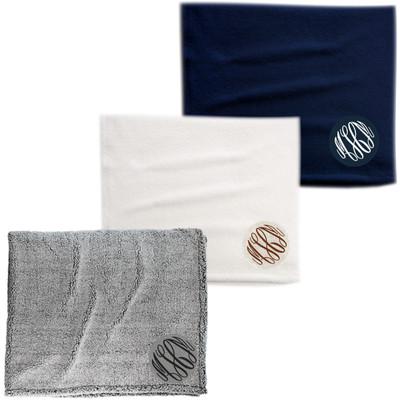 Monogrammed Sherpa Blanket