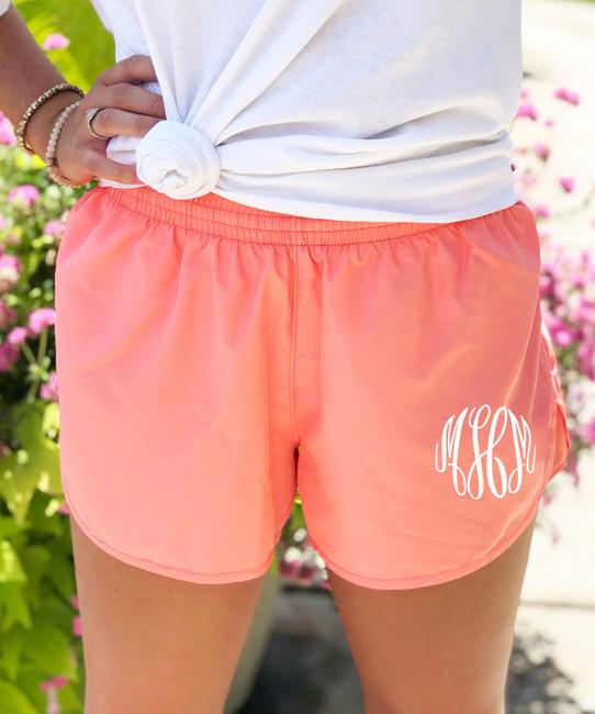 Monogrammed Wayfarer Shorts