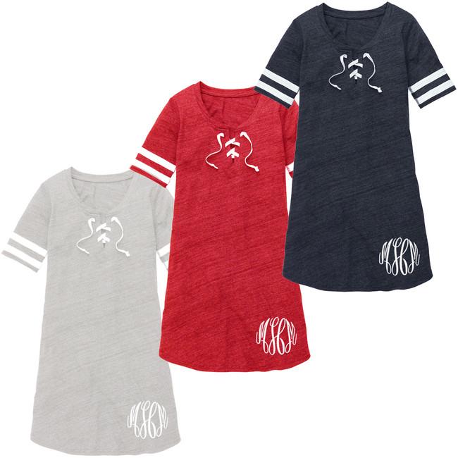 Monogrammed All-Star Dress