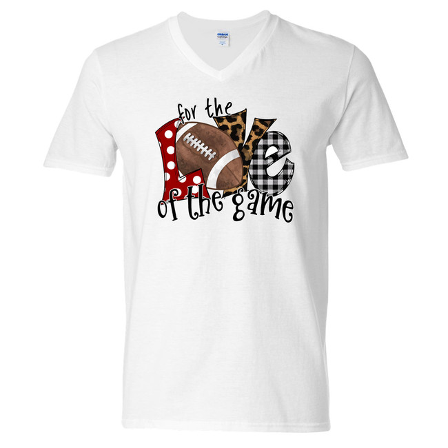 For The Love Of The Game Football T-Shirt