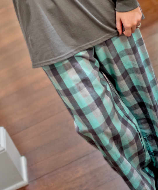 Monogrammed Classic Flannel Lounge Pants