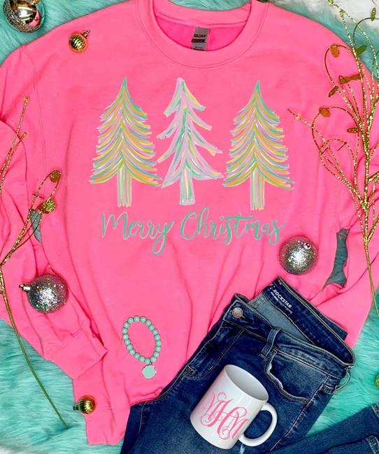 Merry Christmas Trees T-Shirt