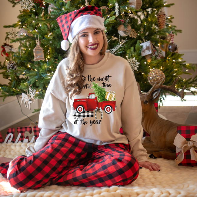 Its The Most Wonderful Time Of The Year Christmas Truck T-Shirt