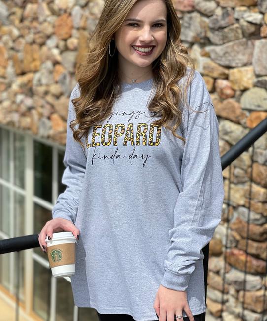 Leggings And Leopard Kinda Day Shirt