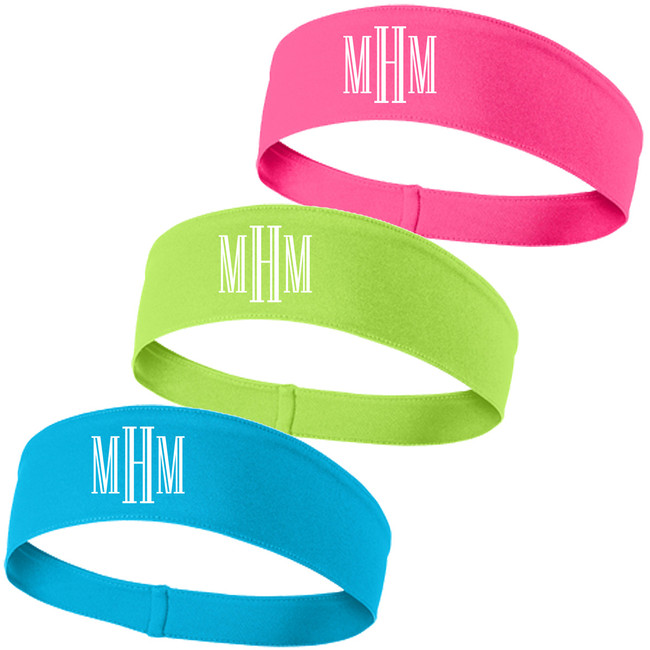 Monogrammed PosiCharge Competitor Headband