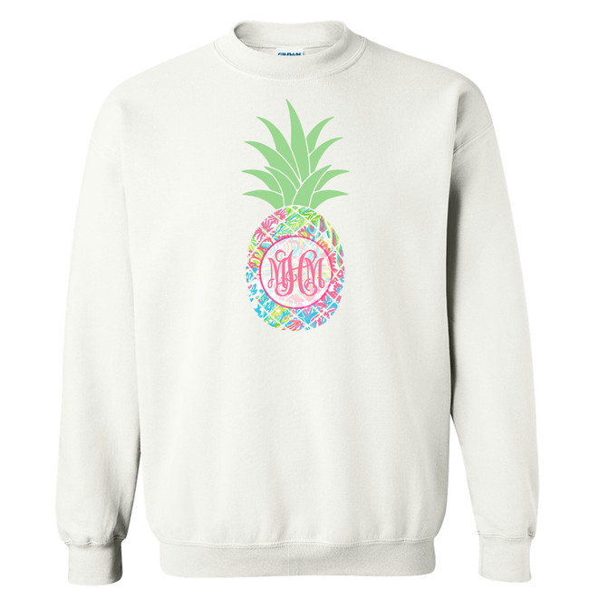 Personalized Lilly Pineapple Graphic T-Shirt