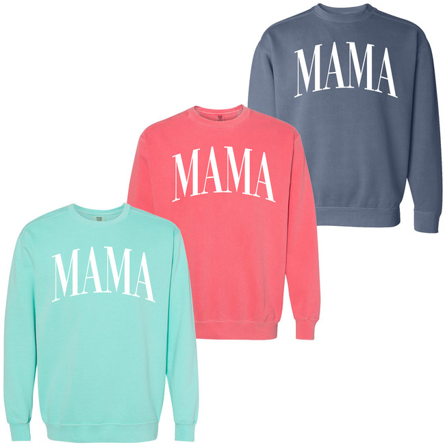 Mama Comfort Colors Sweatshirt