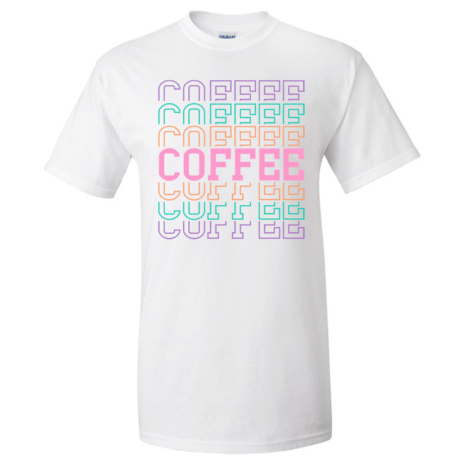 Coffee Stacked Graphic Tee
