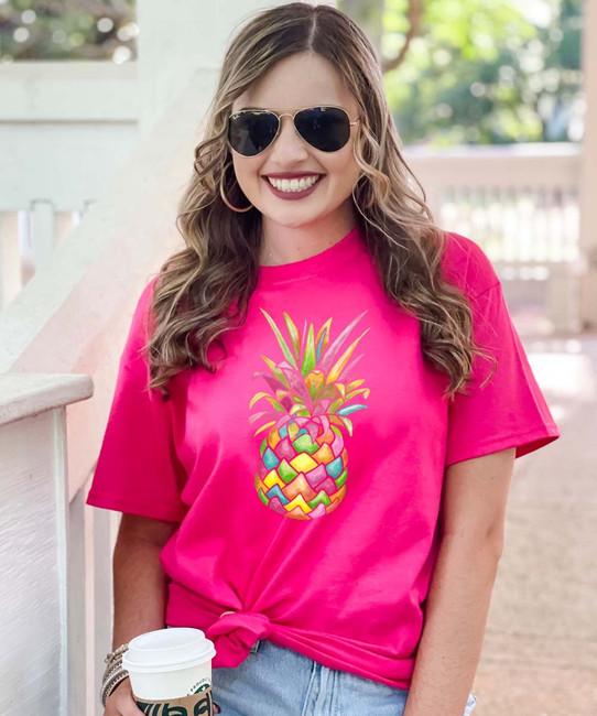 Rainbow Pineapple Shirt